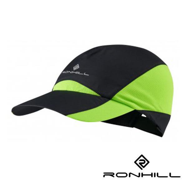 Ronhill WL輕風超涼快乾排汗帽 黑/蜥綠 RH-001031