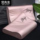 一對裝覺先生乳膠枕套記憶枕頭套單人枕套橡膠大人60x40純棉50x30 夢幻小鎮