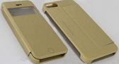 KALAIDENG 卡來登 Apple iPhone 5/5S/SE 側翻手機保護皮套 KA 卡系列 白色