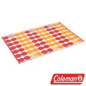 【美國 Coleman】戶外地毯/點點紅 露營 野餐 遊戲墊 睡墊 地墊 防潮墊 CM-26876
