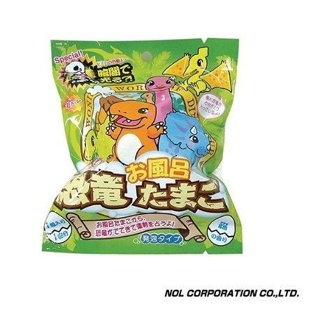 正版日本進口 NOL恐龍蛋入浴球 入浴劑 沐浴球 泡澡球 附隨機公仔 COCOS TJ009