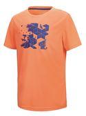 【山水網路商城】山林休閒 Mountneer 新款 男透氣排汗上衣/吸濕排汗/排汗衣 21P35-50 橘