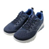 (B4) SKECHERS 男鞋 健走鞋 GOWALK AIR 運動鞋 氣墊 免綁鞋帶 54491NVBL藍 [陽光樂活]