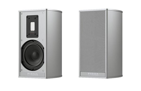 瑞士PIEGA   Premium 301  2音路書架喇叭銀色/對 桃園新竹專賣店推薦 名展音響