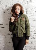 【BTIS】N2B軍裝女外套 綠色