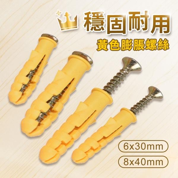 膨脹螺栓 膨脹螺絲 膨脹套 膨脹管 釘套 6mm 8mm 尼龍壁虎 塑膠壁虎 五金工具 ⭐星星小舖⭐