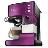 Oster奶泡大師義式咖啡機BVSTEM6602P紫【愛買】