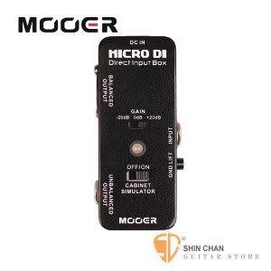 Mooer MICRO DI 平衡訊號轉換器【Direct Input Box】【DI】