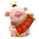 【金石工坊】己亥年生肖豬年-諸事大吉豬撲滿-(中)  撲滿擺飾