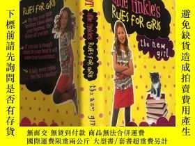 二手書博民逛書店meg罕見cabot allie finkles rules for girls梅格·卡博特·艾莉·芬克爾斯女孩規