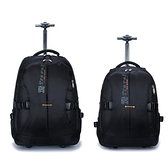 雙肩拉桿包大容量旅行背包袋商務登機男女防潑水旅游手提行李箱包 - 風尚3C