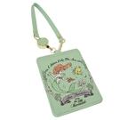 迪士尼 票卡包 皮革 伸縮拉線 小美人魚 Disney 日本正版 該該貝比日本精品