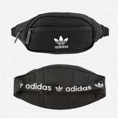 【現貨折卷後1180】adidas Originals National Waist Bag  三葉草肩腰包 黑 CK6590