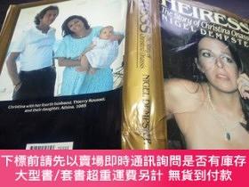 二手書博民逛書店HEIRESS罕見THE STORY OF CHRISTINA ONASSIS 1989年 小16開硬精裝 原版英