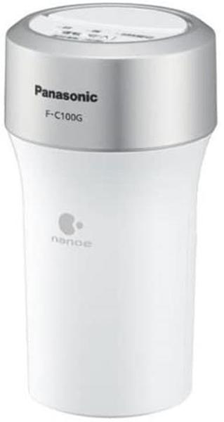 【日本代購】Panasonic 松下電器 車載空氣淨化器 納米水離子過濾器 白色 F-C100K-W