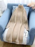 中長款毛衣女套頭韓版寬鬆過膝加厚新款潮秋冬打底衫毛衣裙子 優拓