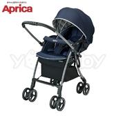 【2018新品】愛普力卡 Aprica LUXUNA Cushion 四輪自動定位嬰兒車-深藍寶石