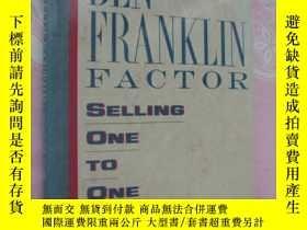 二手書博民逛書店The罕見Ben franklin factor:selling