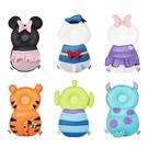 ◆迪士尼造型吸睛又可愛 ◆附有小口袋可放置小東西 ◆背帶上有扣子可防止背帶掉落