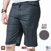 【NST Jeans】威爾斯親王格紋 男休閒微彈短褲(中腰) 390(9506)