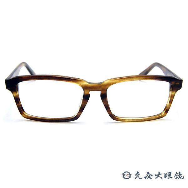 角矢甚治郎 日本手工眼鏡 本能寺 總大將光秀 C-16 透棕 久必大眼鏡