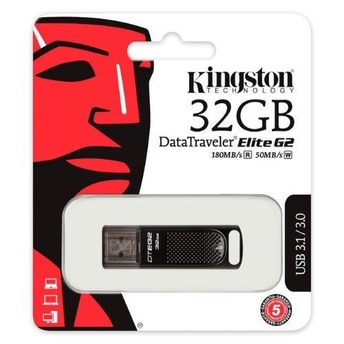 金士頓 隨身碟 【DTEG2/32GB】 DT Elite G2 隨身碟 USB 3.1 32G 新風尚潮流