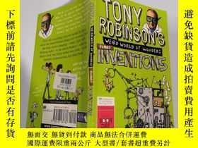 二手書博民逛書店Tony罕見Robinson s Weird World of Wonders:inventions :托尼·羅賓