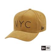 NEW ERA 9FORTY 940KF 燈心絨 NYC 芥末黃 棒球帽