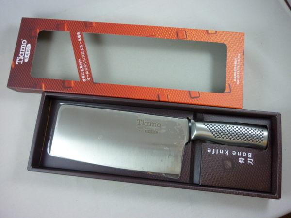 菜刀-Tiamo 刀具組-頂級專業料理菜刀-骨刀