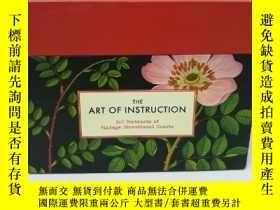二手書博民逛書店The罕見Art of Instruction: 100 Postcards of VintageY2256