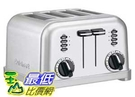[103美國直購] CUISINART CPT-180 4片雙控 金屬經典 烤貝果機 / 厚片土司機 / 烤麵包機 1800W
