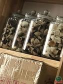 密封儲物罐防潮花茶瓶子玻璃茶葉罐五谷雜糧【福喜行】