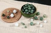 玉珠子散珠diy手工編織手鍊掛件繩材料冰種玉石串珠 瑪奇哈朵