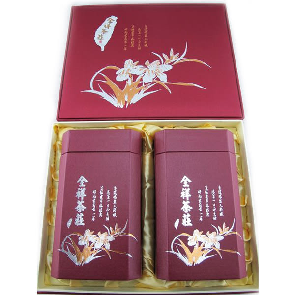 老式條型凍頂烏龍茶禮盒375克 全祥茶莊 MB03  03特製品