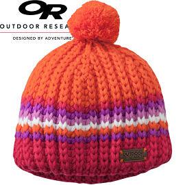 【Outdoor Research 美國 兒童 KIDS BARROW BEANIE 透氣保暖帽 橘】243625CA/兒童毛帽/保暖帽/針織帽★滿額送