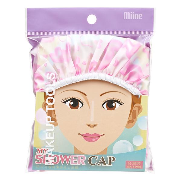 Miine粉紅浴帽-1入【屈臣氏】
