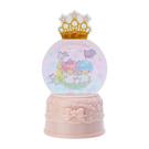 【震撼精品百貨】Little Twin Stars KiKi&LaLa_雙子星小天使~三麗鷗雙子星聖誕亮光雪球胸針#66107