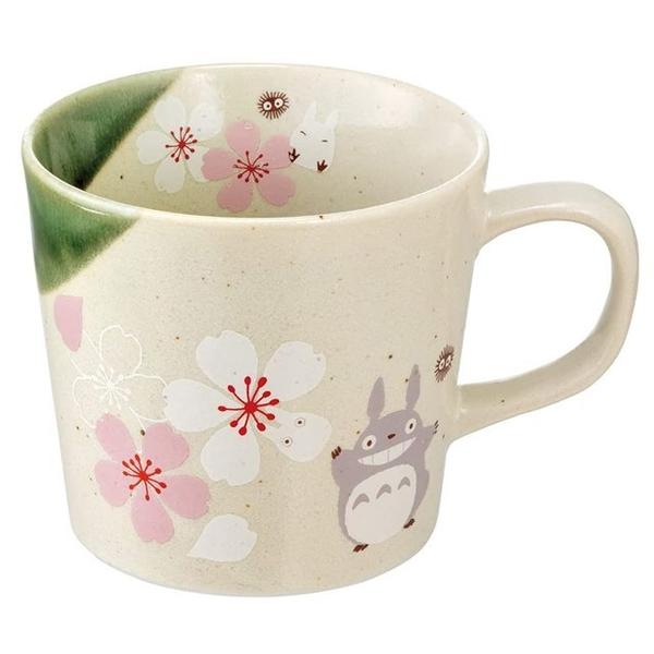 小禮堂 龍貓 日本製 陶瓷馬克杯 (美濃燒) 4973307-54418