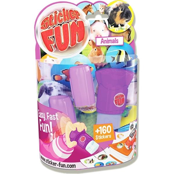 【Sticker Fun 棒棒貼】按壓貼紙機-可愛動物 GO35501