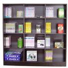 120寬x120高-中型12格書櫃 書架...