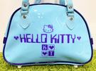 【震撼精品百貨】凱蒂貓_Hello Kitty~日本SANRIO三麗鷗 KITTY 防水袋/側背袋-藍#05261