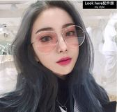 個性大框太陽眼鏡 百搭雷朋款墨鏡 彩色鏡片 男女同款 不挑臉型 【B019】飛行員鏡 抗UV400