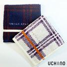 UNITED ARROWS 格紋方巾 蘇格蘭風 100%純棉 吸水 UCHINO