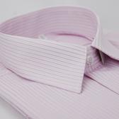 【金‧安德森】粉底黑線吸排短袖襯衫