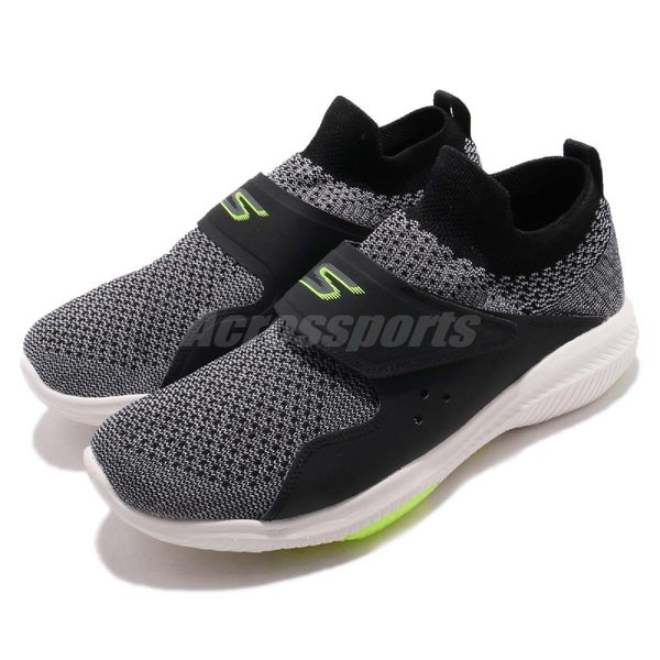 Skechers 慢跑鞋 Go Walk Revolution Ultra Revolve 黑 灰 避震緩衝 男鞋 運動鞋【PUMP306】 54668BKLM