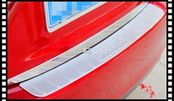 【車王小舖】馬自達 2015 All New Mazda 3 馬3 全新馬3 馬自達3 四門 後護板 後防刮
