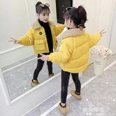 女童棉衣小女孩洋氣短款兒童裝加厚羽絨棉服外套棉襖 歐韓時代
