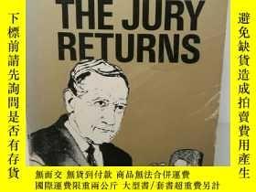二手書博民逛書店辯護大師路易斯.耐瑟自傳罕見The Jury Returns b