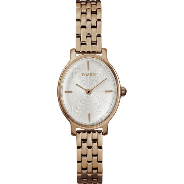 【TIMEX】天美時 復刻系列 經典優雅手錶(玫瑰金 TXTW2R94000)