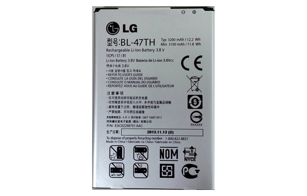 【YUI】LG BL-47TH 原廠電池 3200mAh LG G Pro 2 D838 專用電池 LG G Pro 2 D838 原廠電池 G Pro2 原廠電池